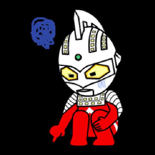 Ultraman Sticker - 1 - Sticker 18