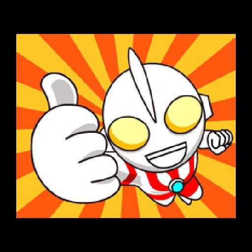 Ultraman Sticker - 1 - Sticker 24