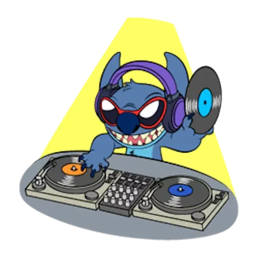 DJ - Sticker 5