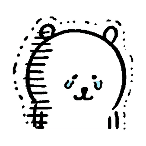 自我吐糟的白熊3 - Sticker 12