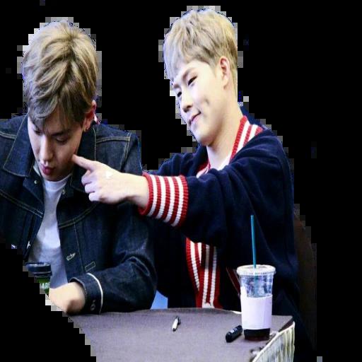 Kpop - Tray Sticker