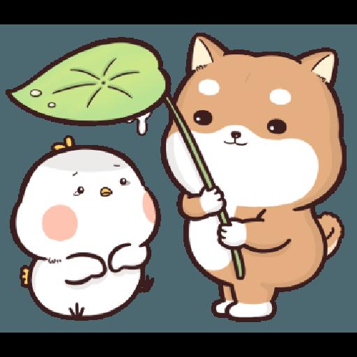 Shiba Inu PIPI's life(3) by Liz - 2 - Tray Sticker