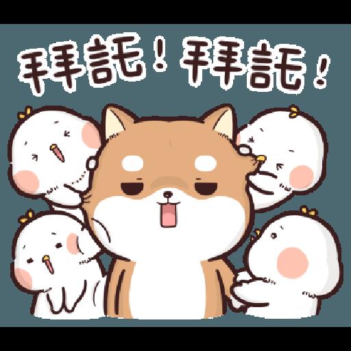 Shiba Inu PIPI's life(3) by Liz - 2 - Sticker 20