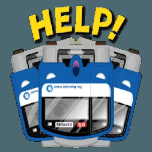 Train - Sticker 24