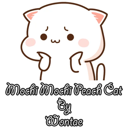 mochi mochi - Tray Sticker