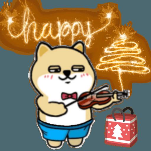 中國香港肥柴仔@聖誕快樂 - Sticker 19