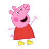 Pepig - Tray Sticker