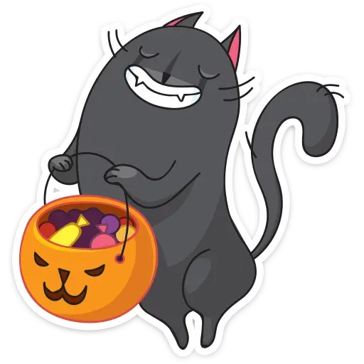 Black Kat - Sticker 22