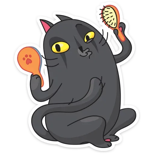 Black Kat - Sticker 27