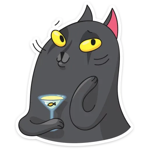Black Kat - Sticker 9