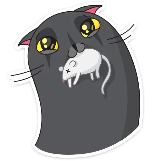 Black Kat - Sticker 8