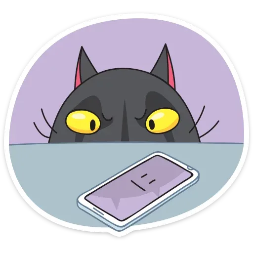 Black Kat - Sticker 20