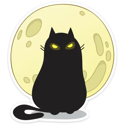 Black Kat - Sticker 6