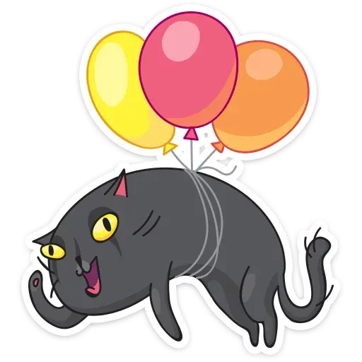 Black Kat - Sticker 30