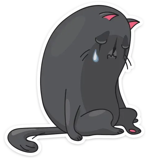 Black Kat - Sticker 17