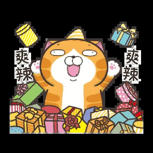 白爛貓 聖誕 - Sticker 22