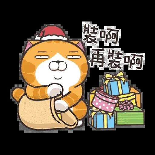 白爛貓 聖誕 - Sticker 15