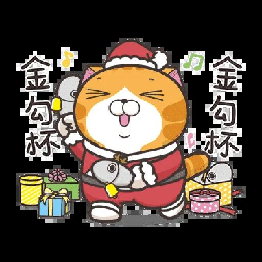 白爛貓 聖誕 - Sticker 8