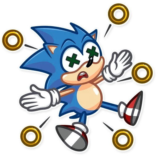 Sonic - Sticker 27