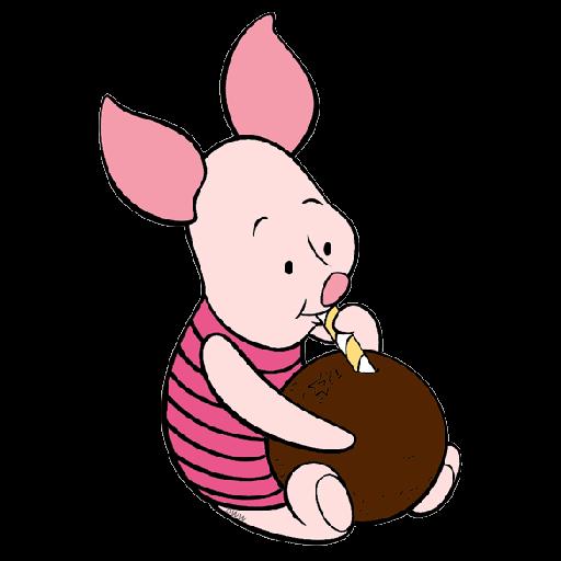 Ursinho Pooh e Piglet - Sticker 29