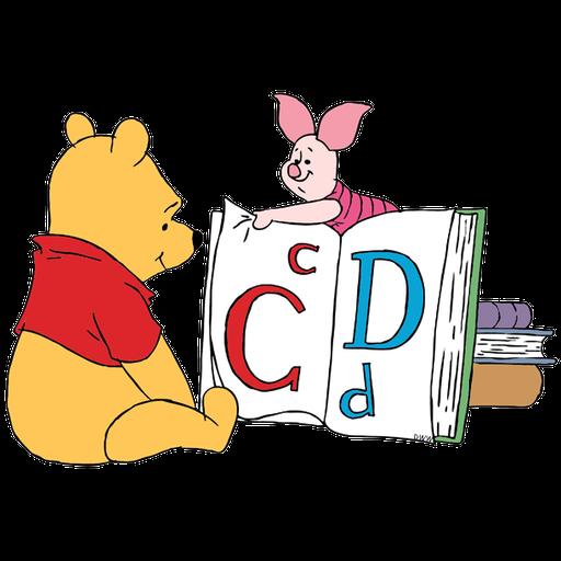 Ursinho Pooh e Piglet - Sticker 11