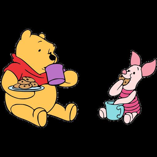 Ursinho Pooh e Piglet - Sticker 14