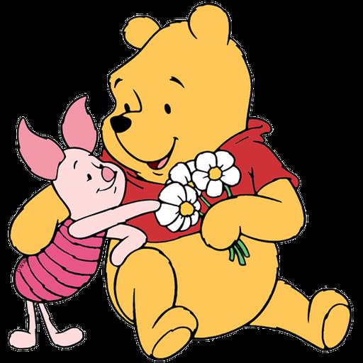 Ursinho Pooh e Piglet - Sticker 15