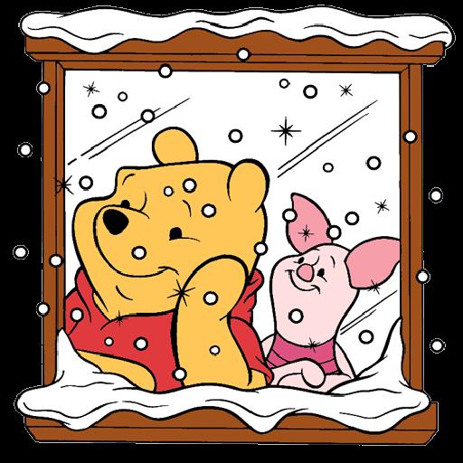 Ursinho Pooh e Piglet - Sticker 22
