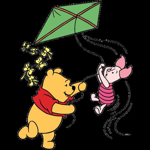 Ursinho Pooh e Piglet - Sticker 18
