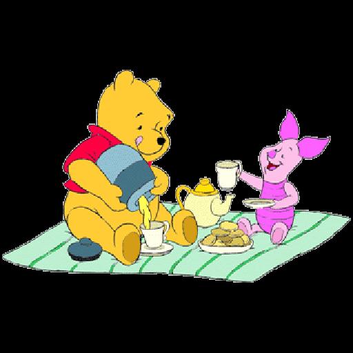 Ursinho Pooh e Piglet - Sticker 26