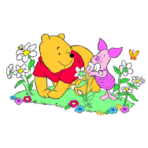 Ursinho Pooh e Piglet - Sticker 16