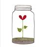 Flowers1 - Tray Sticker