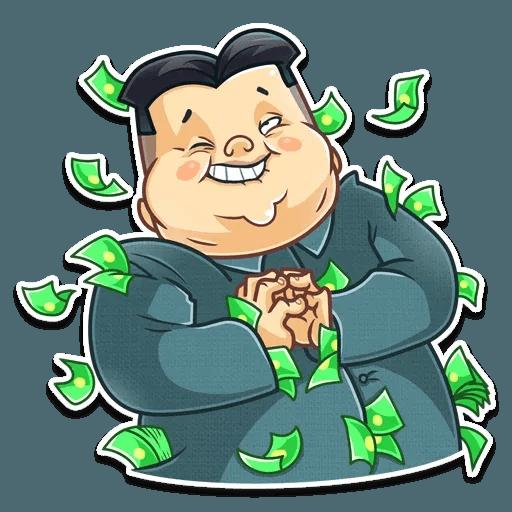Kim Jong-un - Sticker 15