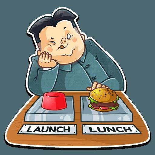 Kim Jong-un - Sticker 21