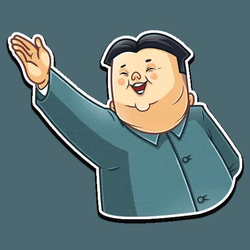 Kim Jong-un - Sticker 24