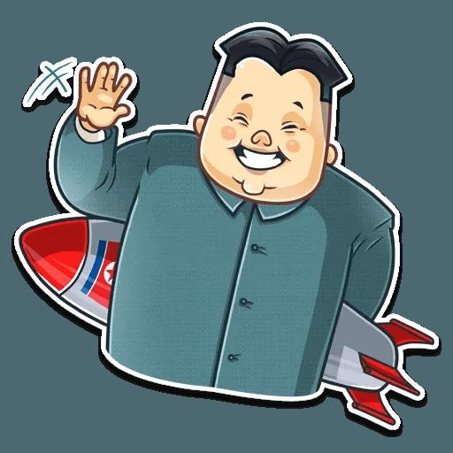Kim Jong-un - Sticker 2