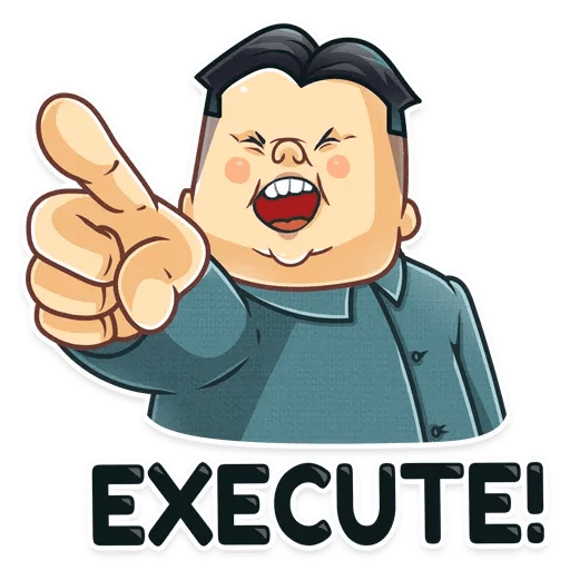 Kim Jong-un - Sticker 10