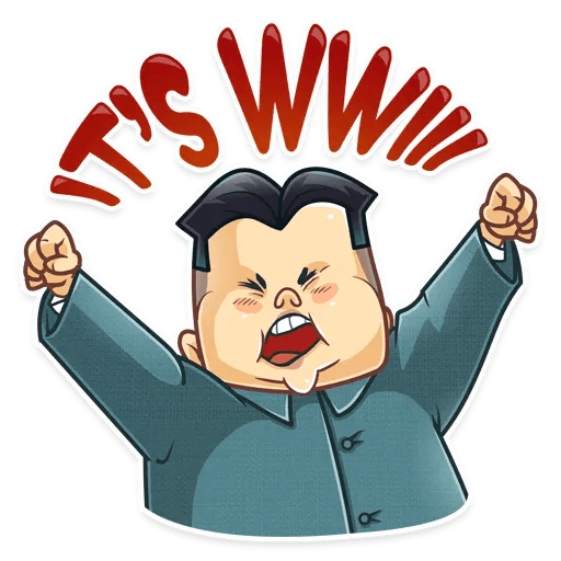 Kim Jong-un - Sticker 20