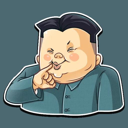 Kim Jong-un - Sticker 25