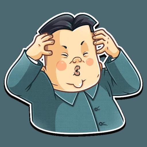 Kim Jong-un - Sticker 13