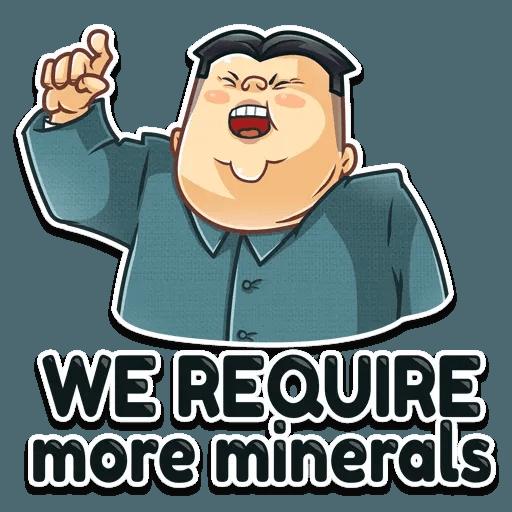 Kim Jong-un - Sticker 16