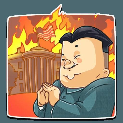 Kim Jong-un - Sticker 11