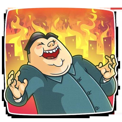 Kim Jong-un - Sticker 3