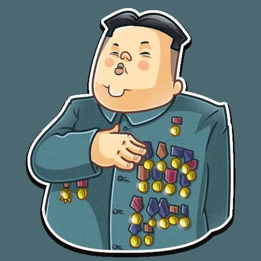 Kim Jong-un - Sticker 28