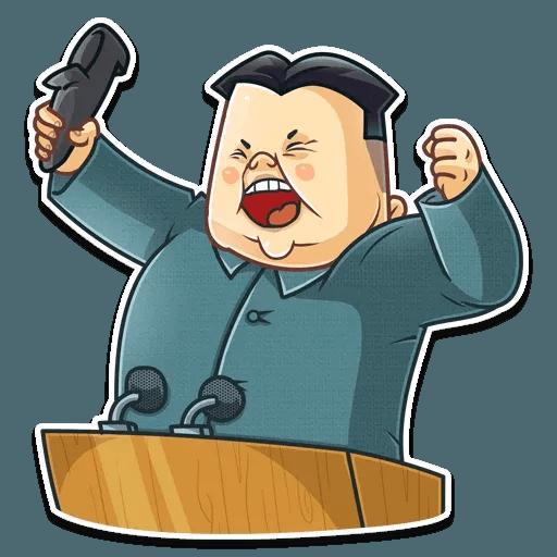 Kim Jong-un - Sticker 17