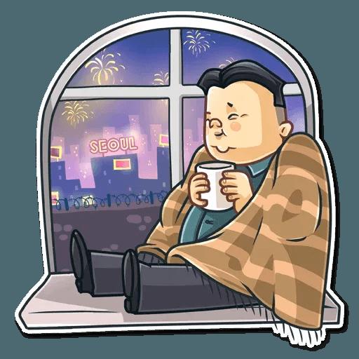 Kim Jong-un - Sticker 19