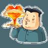 Kim Jong-un - Tray Sticker
