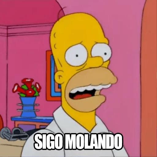 [ES] Simpsons Memes II - Sticker 11