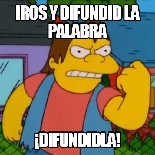 [ES] Simpsons Memes II - Sticker 18