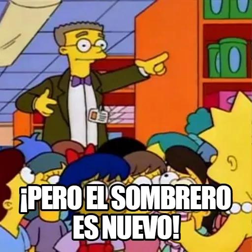 [ES] Simpsons Memes II - Sticker 12